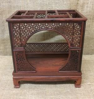Small Wooden Bonsai Display Box 22x15x23cm