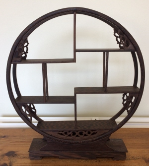 Wooden Shohin Bonsai Display Stand 40x46x7cm